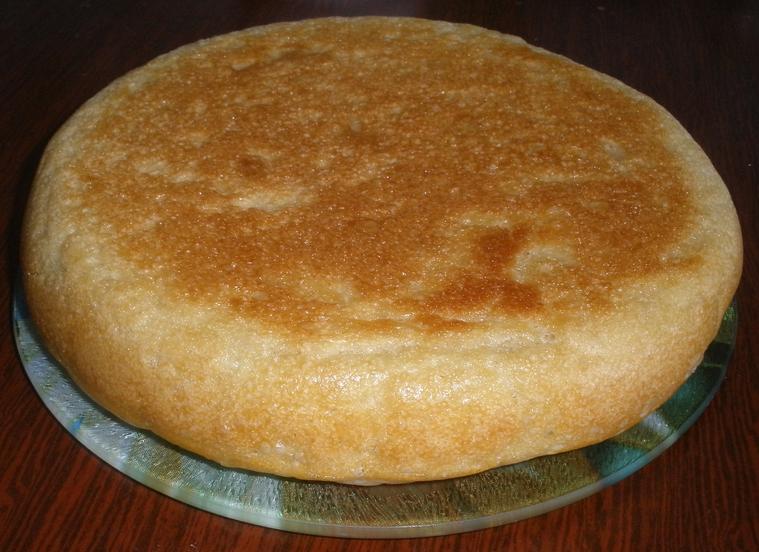 Хлеб на сковороде - фото шаг 4