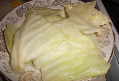 Рецепт Капустные листья в кляре