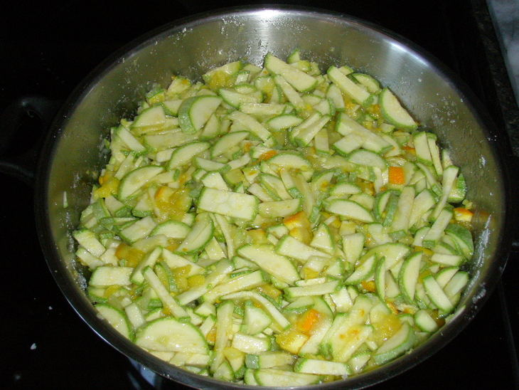 Варенье из кабачков в сиропе - фото шаг 2