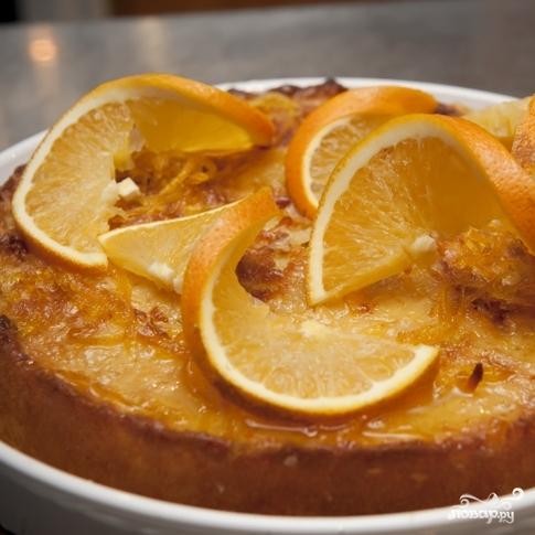 Апельсиновый пирог - фото шаг 11