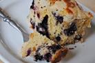 Черничный пирог с мускатом