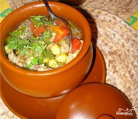 суп шурпа в горшочке рецепт