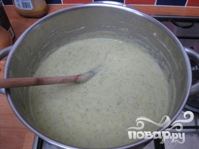 Сливочный суп с брокколи и картофелем - фото шаг 7