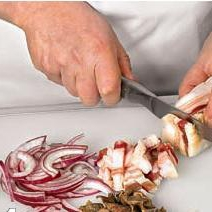 Колбаски охотничьи с грибами - фото шаг 2