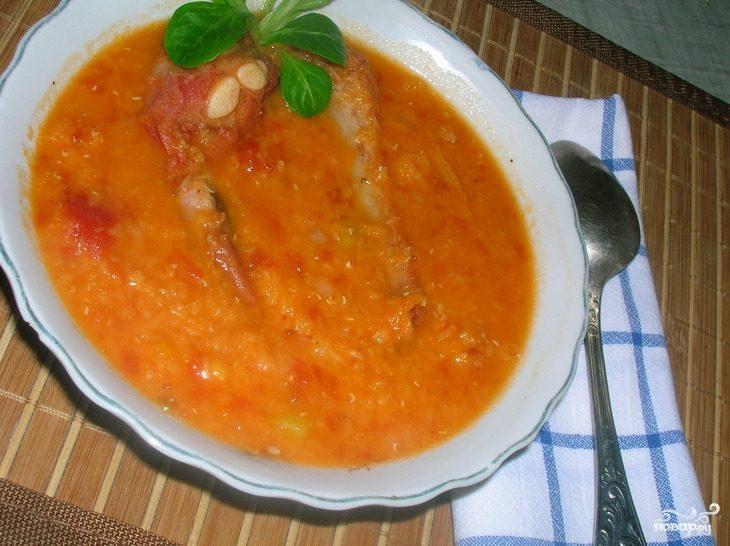 суп на свиных костях рецепт с фото