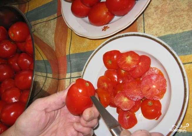 Малосольные помидоры - фото шаг 1