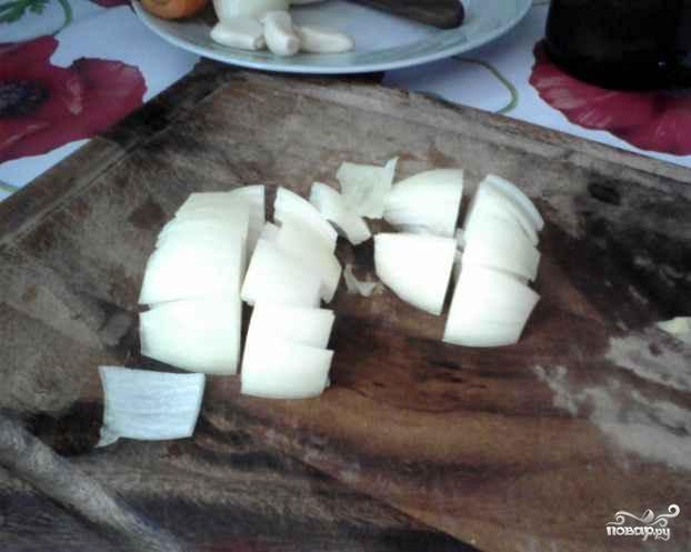 Кабачки тушеные с чесноком - фото шаг 2