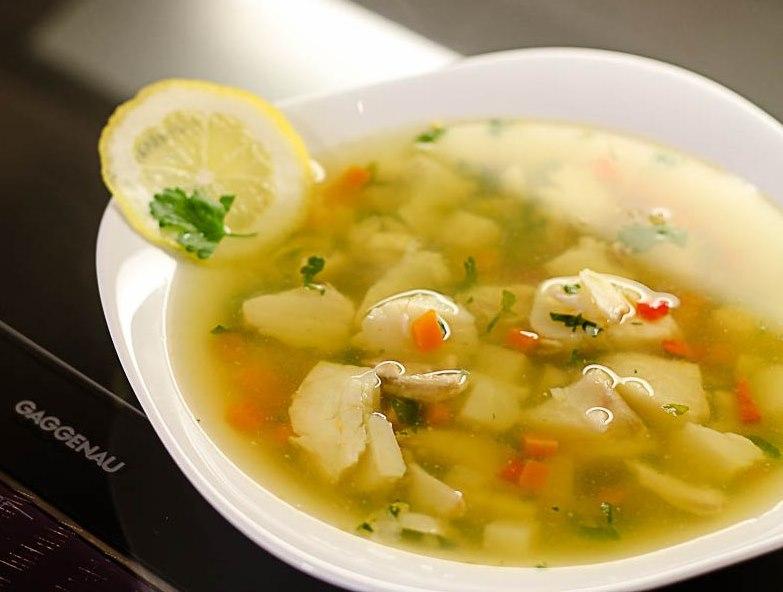 Прозрачный рыбный суп - фото шаг 5