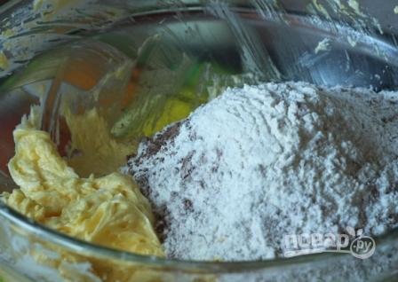 Шоколадное печенье с кусочками шоколада - фото шаг 5