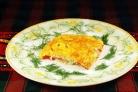 Рыба в духовке со сметаной и сыром
