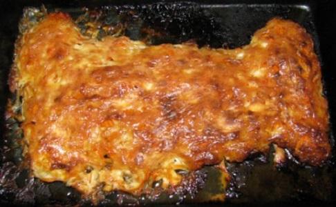 отбивное мясо в духовке с сыром и помидорами фото рецепт