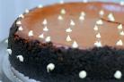 Шоколадный чизкейк с карамелью