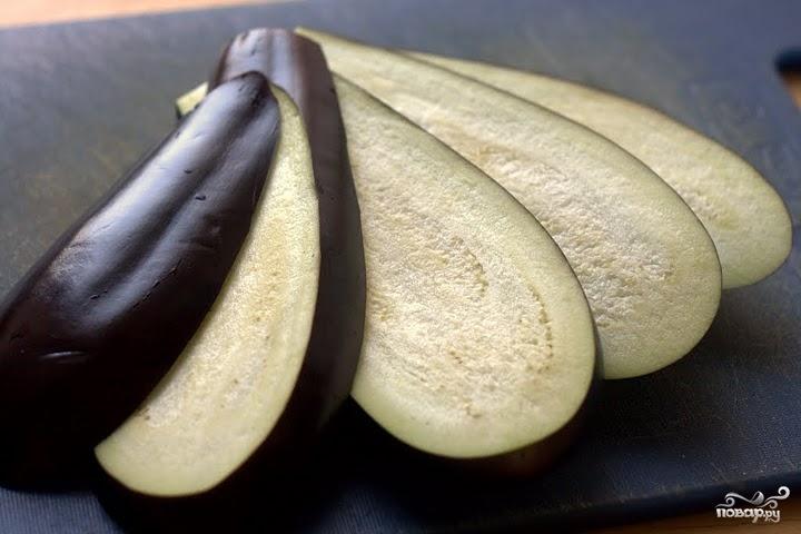 Рецепт Баклажаны с творогом и чесноком