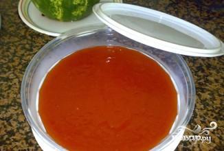 Десерт из арбуза - фото шаг 5