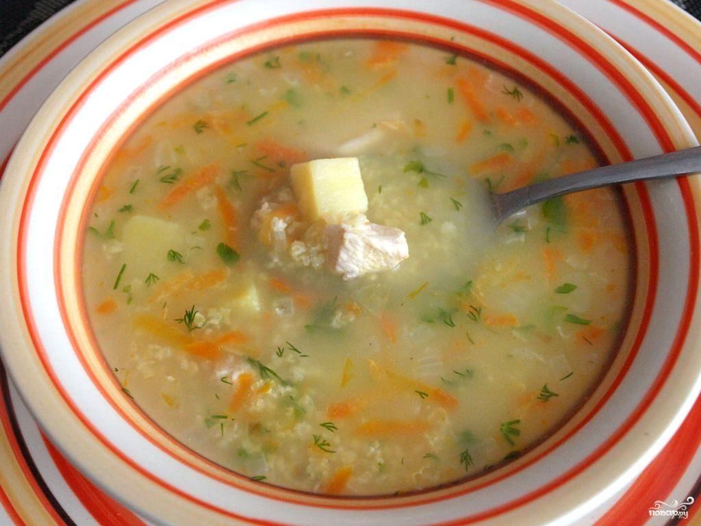 Суп из пшена рецепты