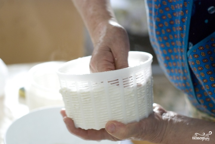 Как сделать домашний сыр из молока и уксуса