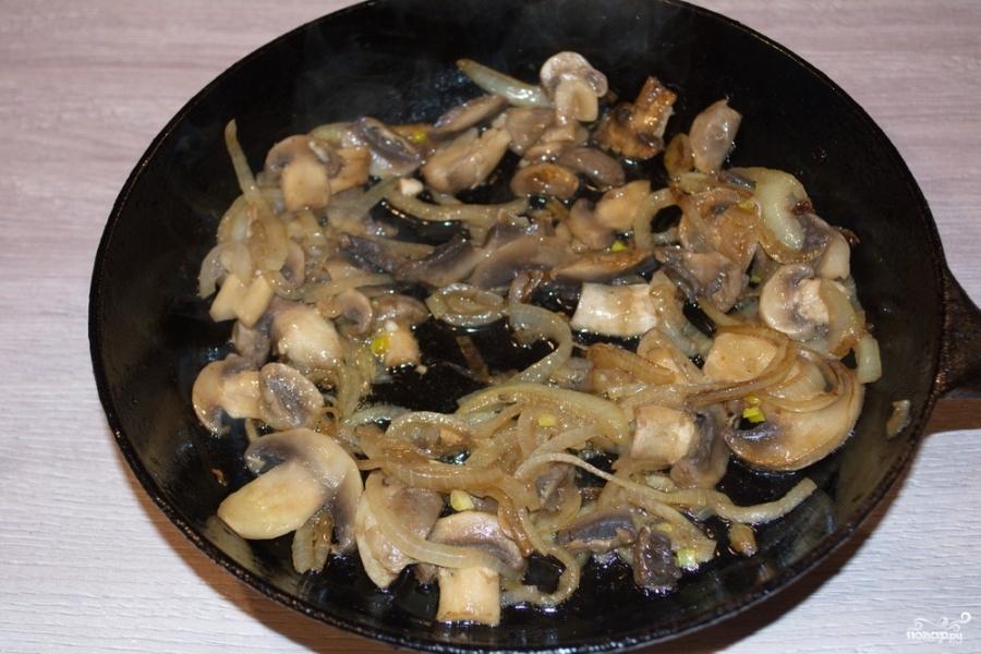 Картошка с грибами в сметане - пошаговый рецепт с фото: как