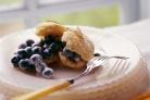 Печенье с черникой и йогуртом