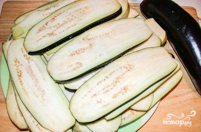 Рецепт Рулеты из баклажанов