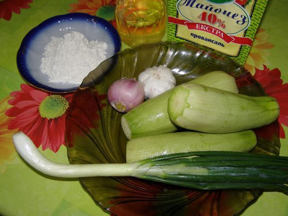 Рецепт Кабачки жареные на зиму