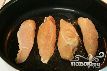 Курица с беконом и сыром - фото шаг 2