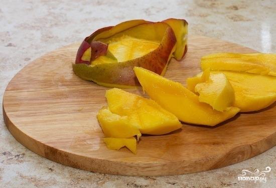 Смузи из манго и абрикоса - фото шаг 1