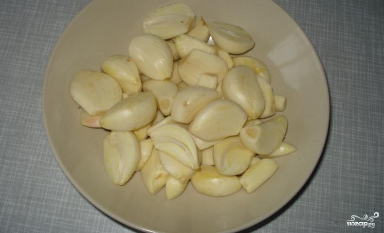 Маринованный чеснок пошаговый рецепт