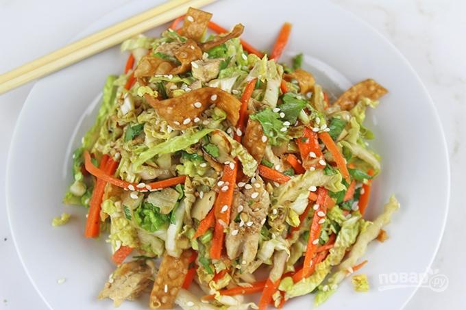 салат рецепт китайская капуста