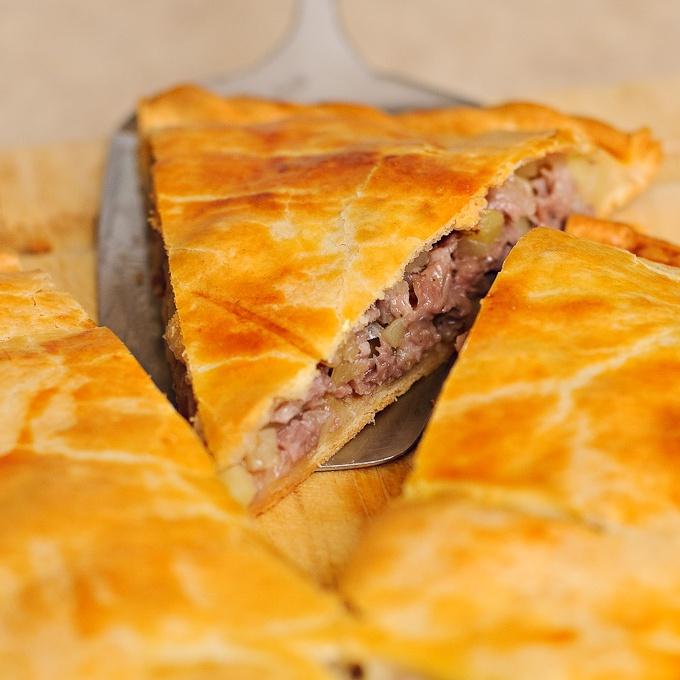 мясной пирог в духовке пошаговый рецепт