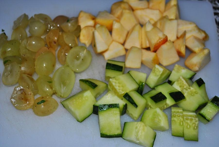 Зеленый коктейль со свеклой - фото шаг 3