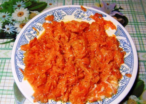 салат ромашка пошаговый рецепт с фото