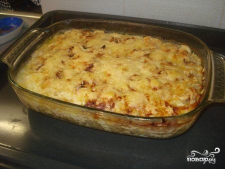Пельмени в духовке с сыром и майонезом