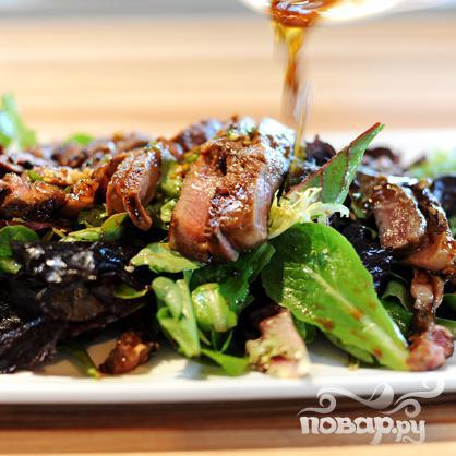 Мясной салат - фото шаг 24