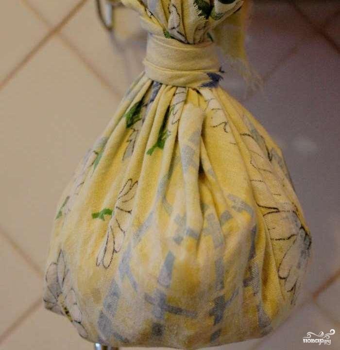 Домашний сыр из ряженки - фото шаг 3
