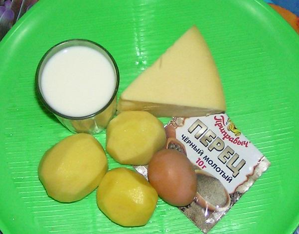 Картошка в молоке в мультиварке - фото шаг 1