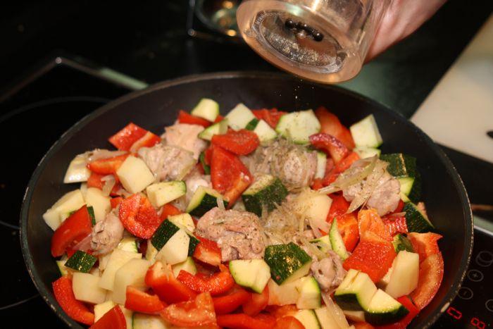 рецепты из кролика с грибами в духовке