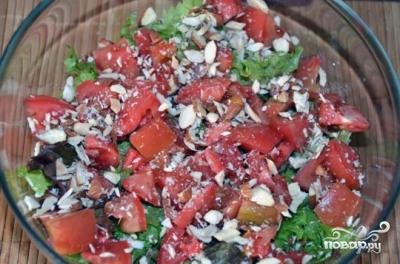 Салат с грушей - фото шаг 9