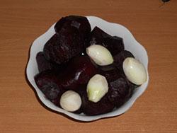 Рецепт Свекла с луком на зиму