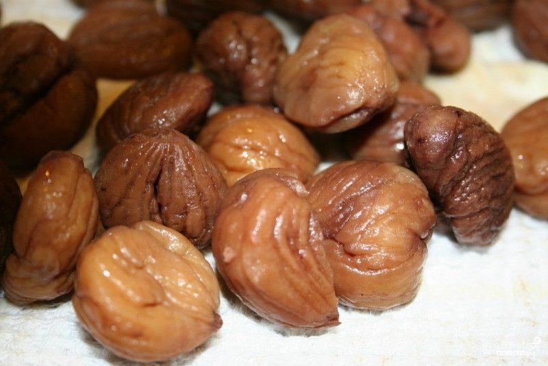 Рецепт Каштаны в соевой карамели