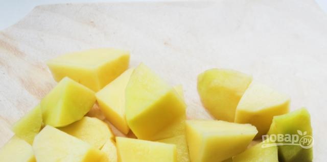 Картофельный суп-пюре с фрикадельками - фото шаг 2