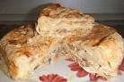 Слоенный пирог из лаваша