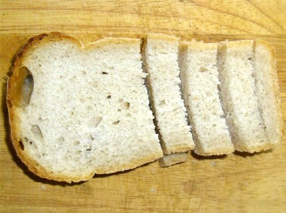 Сухарики в духовке - фото шаг 2