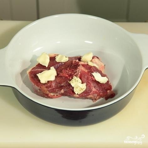 Рецепт Баранина в йогурте