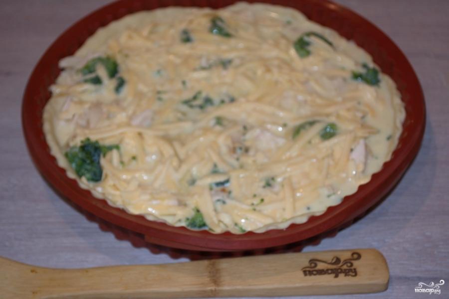 замороженная брокколи в духовке рецепты с фото