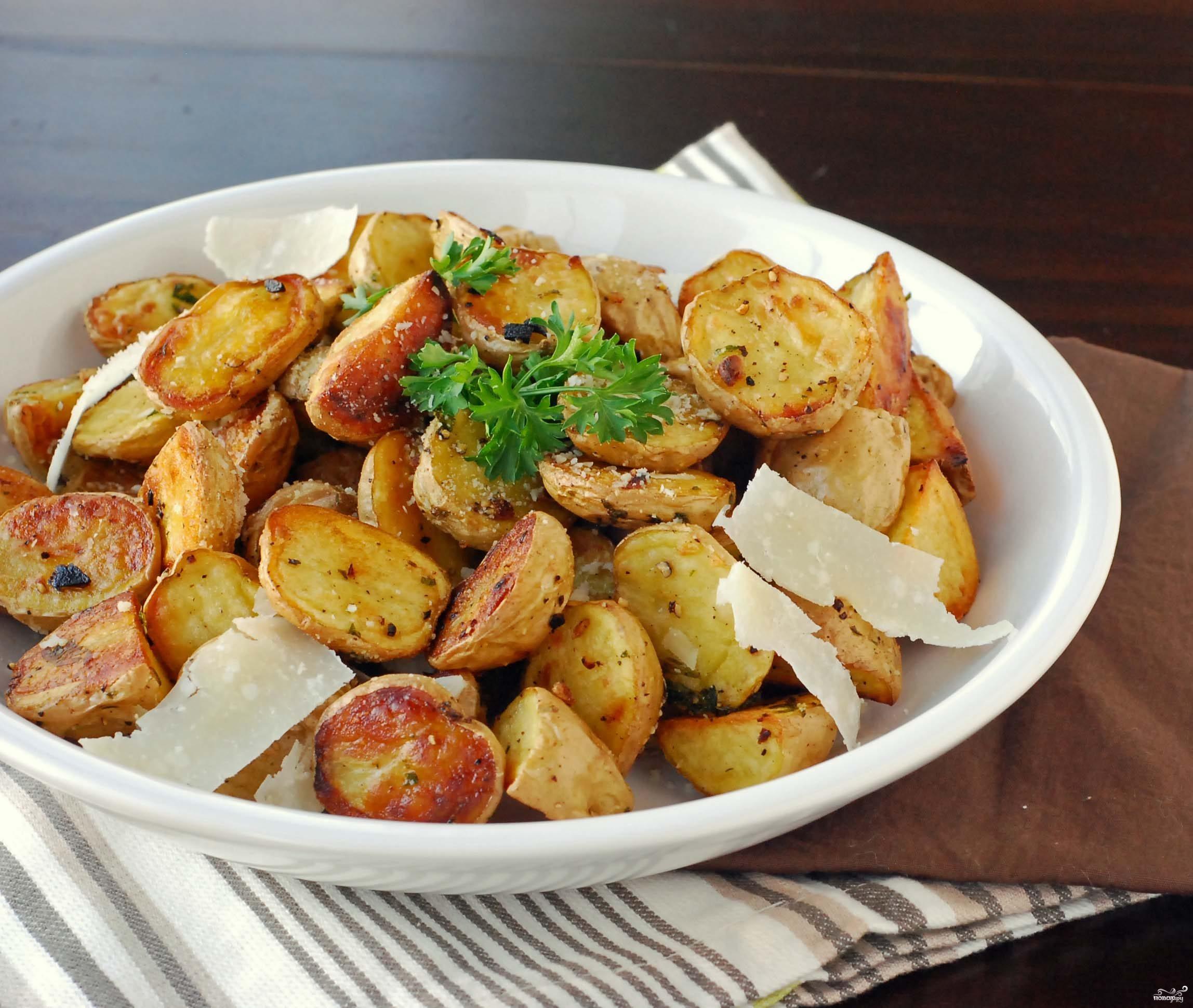 Рецепт Картофель в мундире, запеченный в духовке