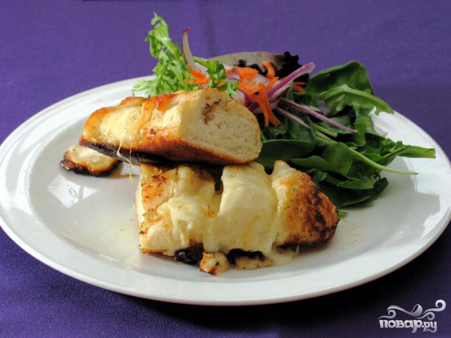 Рецепт Чесночно-сырный хлеб