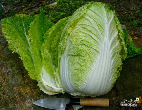 Оригинальный салат слау с пекинской капустой - фото шаг 1