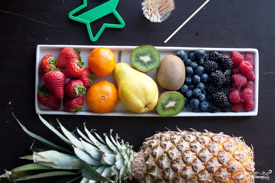 Рецепт Ассорти из фруктов