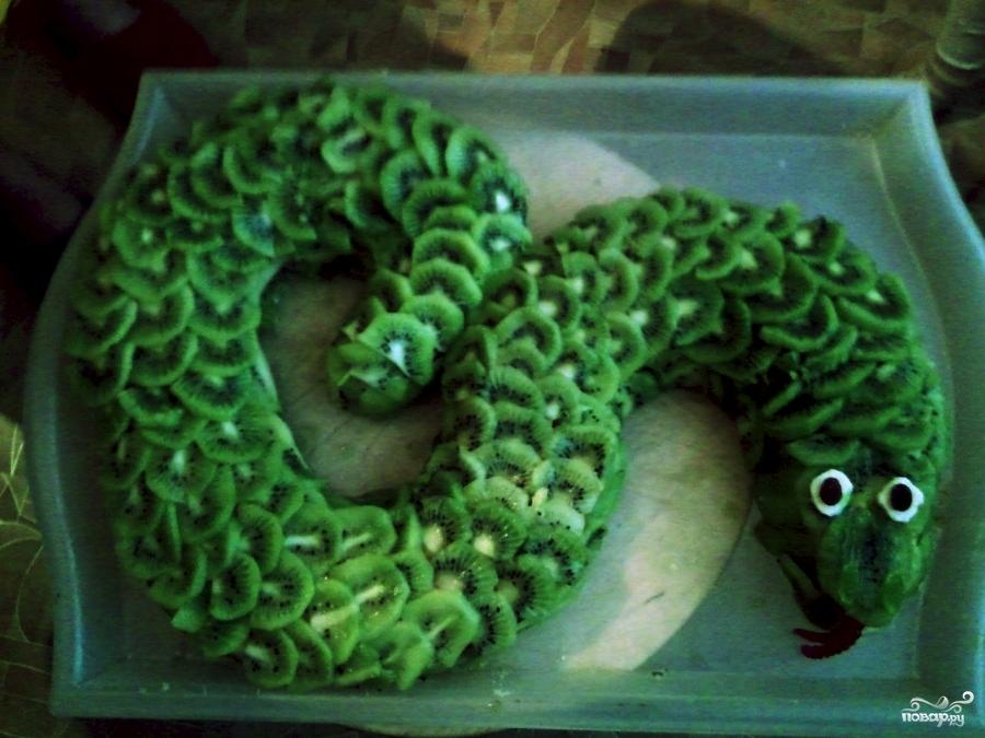 """Торт """"Змея"""" - фото шаг 6"""