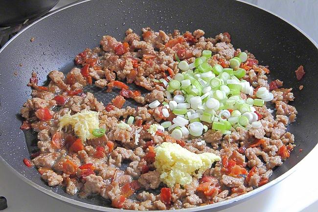 Жареный рис со свининой - фото шаг 7